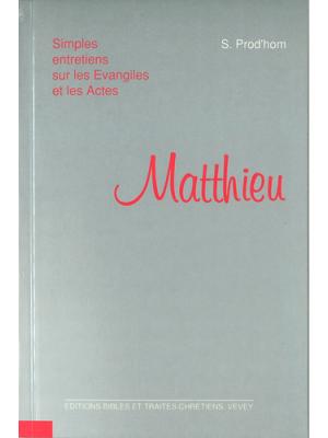 Simples entretiens sur Matthieu