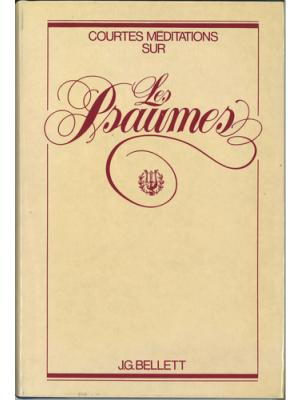Méditations sur les Psaumes, relié
