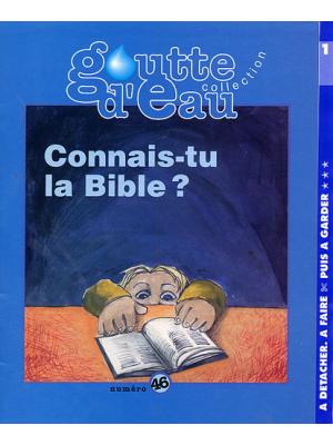 Goutte d'eau n°46 : Connais-tu la Bible?