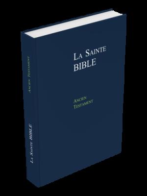 Ancien Testament Format Large, rigide, bleu