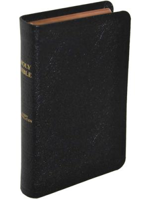 Bible cuir, petit format, version J.N. Darby, anglais