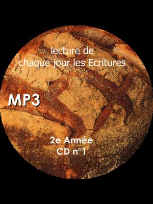 Chaque jour les Écritures : 3° année, CD MP3