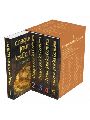 Ch. jour les Ecritures la série avec coffret