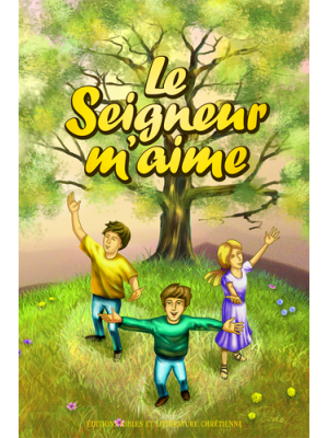 """Chants pour enfants  """"Le Seigneur m'aime"""" - livre"""