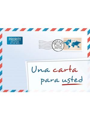 Une lettre pour vous, espagnol