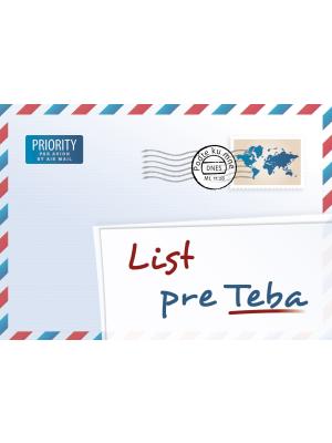 Une lettre pour vous, slovaque