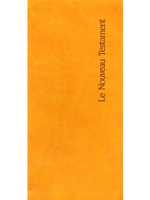 """Nouveau Testament Editions """"La Bonne Semence"""", format de poche, couverture simili cuir"""