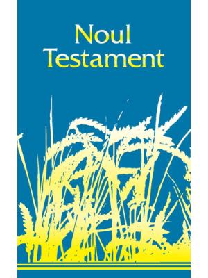 Nouveau Testament, souple, épis de blé, 11x18, roumain