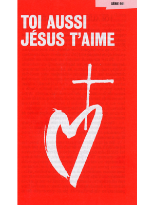 Toi aussi Jésus t'aime (paquet de 100)