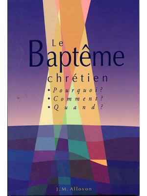 Le baptême chrétien