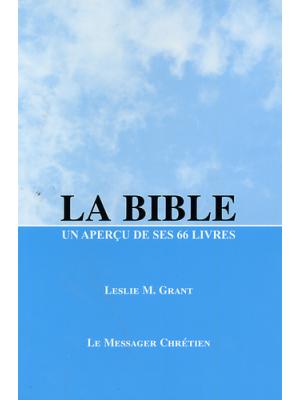 La Bible, un aperçu de ses 66 livres