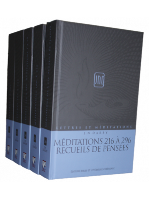 Lettres et Méditations - Vol 12 à 16