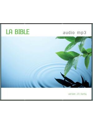 CD Bible Darby Audio format MP3