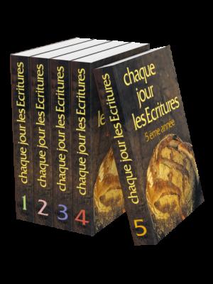 Chaque jour les Écritures : la série des 5 volumes