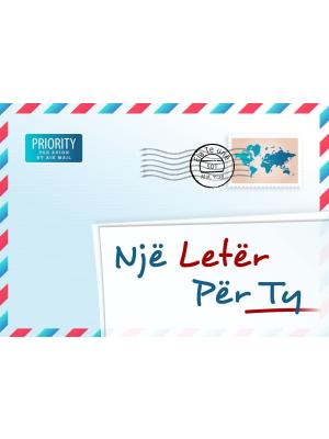 Une lettre pour vous, albanais