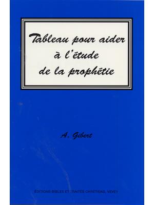 Tableau pour aider à l'étude de la prophétie