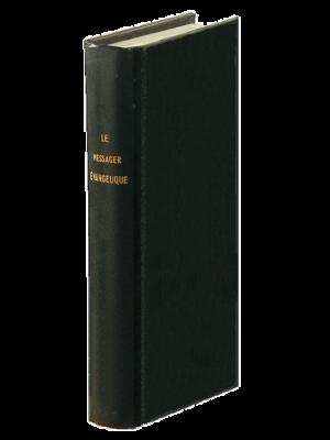 Messager Évangélique 1863, noir