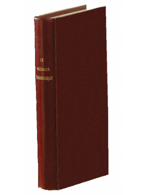 Messager Évangélique 1864, grenat