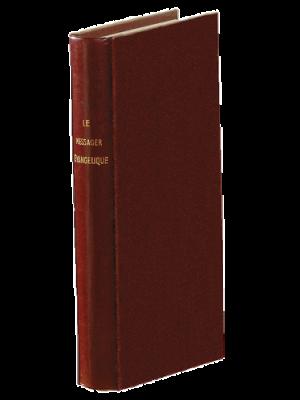 Messager Évangélique 1885, grenat