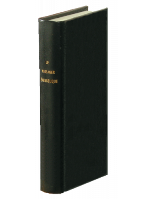Messager Évangélique 1928, noir