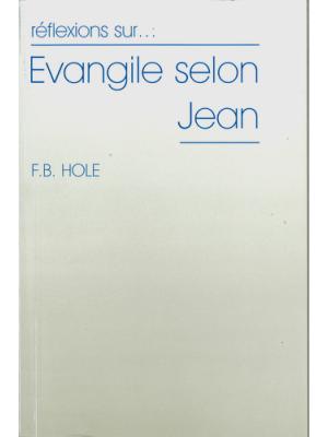 Réflexions sur l'évangile selon Jean