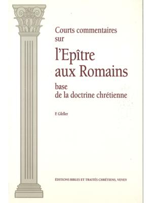 Courts commentaires sur l'épître aux Romains