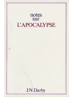 Notes sur l'Apocalypse, format broché