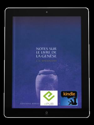 Notes sur le livre de la Genèse -eBook