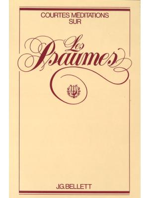 Méditations sur les Psaumes, broché