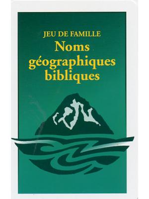 Jeu de famille biblique : Lieux géographiques