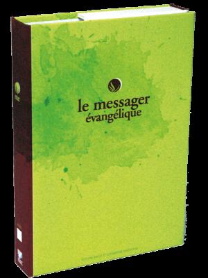 Coffret de rangement fascicules Messager Évangélique
