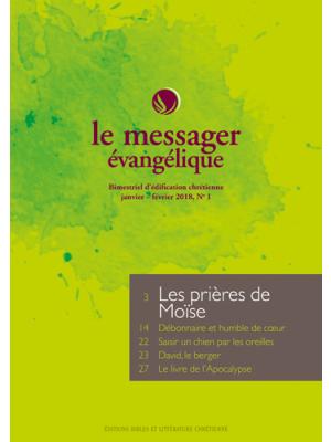 Le Messager Évangélique, abonnement PAPIER 6 n°