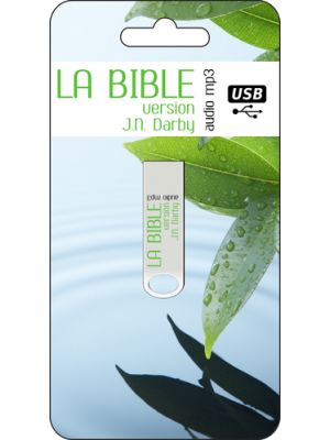 Clé USB Bible Darby Audio format MP3
