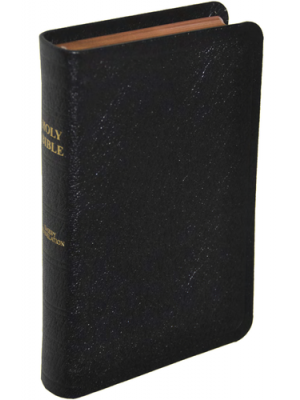 Bible cuir, petit format, version J.N. Darby, anglais