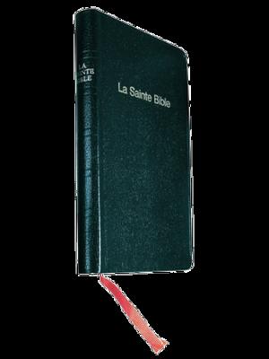 Bible skivertex noir, semi-rigide, format de poche