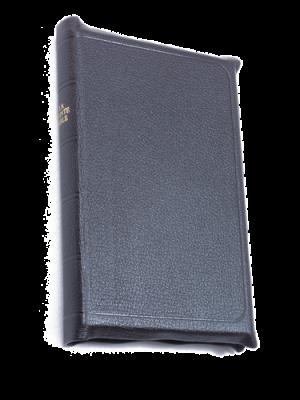 Bible cuir noir, petit format