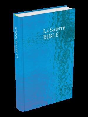 Bible bleue, rigide, petit format