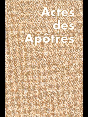 Actes des Apôtres, version JND