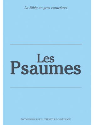 Les Psaumes, gros caractères