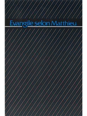 Évangile selon Matthieu, 14 x 21 cm