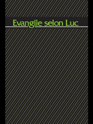 Évangile selon Luc, 14 x 21 cm