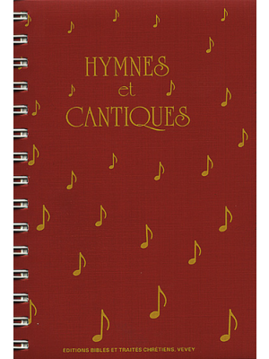 Hymnes et cantiques, format piano