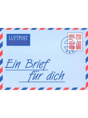 Une lettre pour vous, allemand