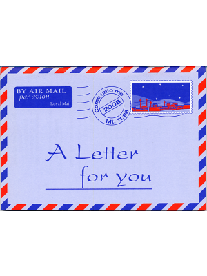 Une lettre pour vous, anglais