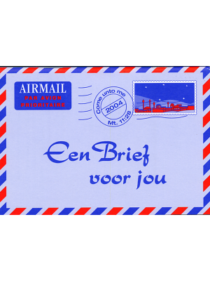 Une lettre pour vous, néerlandais