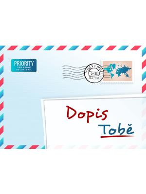 Une lettre pour vous, tchèque
