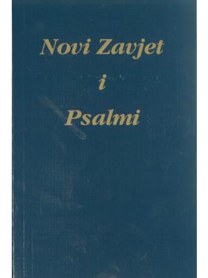 Nouveau Testament, souple bleu, croate