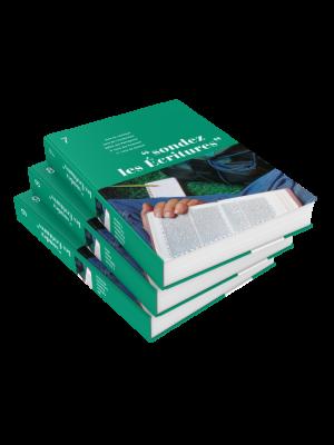 Sondez les écritures, volumes 07 à 09