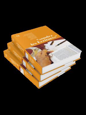 Sondez les écritures, volumes 13 à 15