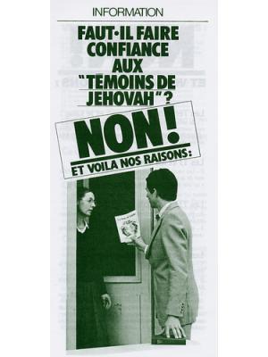 Faut-il faire confiance aux témoins de Jehovah ?